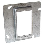 "Hubbell 842 4-11/16"" Square Mud-Ring, For 1 Device, Raised 1-1/4"" - Pkg Qty 25"