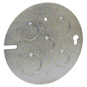 "Hubbell 890 Concrete Ring Cover, 1/2"" & 3/4"" Knockouts - Pkg Qty 25"