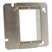"Hubbell 898 4-11/16"" Square Mud-Ring, For 1 Device, Raised 1-1/2"" - Pkg Qty 20"