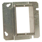 "Hubbell 899 4-11/16"" Square Mud-Ring, For 1 Device, Raised 2"" - Pkg Qty 20"
