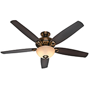 "Hunter Fan Valerian 60"" Indoor Ceiling Fan 54061 - Bronze Patina"