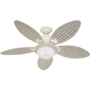 "Hunter Fan Caribbean Breeze™ 54"" Indoor Ceiling Fan 54094 - Textured White"