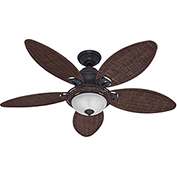 "Hunter Fan Caribbean Breeze™ 54"" Indoor Ceiling Fan 54095 - Weathered Bronze"
