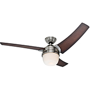 "Hunter Fan Eurus 54"" Indoor Ceiling Fan 59054 - Brushed Nickel"
