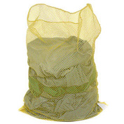 Mesh Bag W/Out Closure, Yellow, 18x24, Heavy Weight - Pkg Qty 12