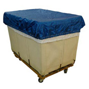 HG Maybeck Hamper Basket Cap, 400 Denier Nylon, 12 Bushel, Blue