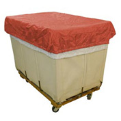 HG Maybeck Hamper Basket Cap, 200 Denier Nylon, 14 Bushel, Red