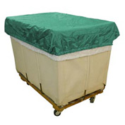 HG Maybeck Hamper Basket Cap, 200 Denier Nylon, 18 Bushel, Green