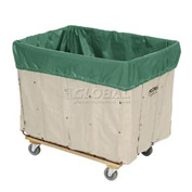 HG Maybeck Hamper Basket Liner, 10 Oz. Vinyl, 12 Bushel, Green