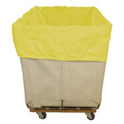 HG Maybeck Hamper Basket Liner, 200 Denier Nylon, 20 Bushel, Yellow