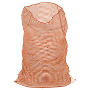Mesh Bag W/Out Closure, Orange, 30x40, Medium Weight - Pkg Qty 12