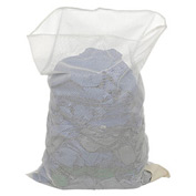 Mesh Bag W/Out Closure, White, 30x40, Medium Weight - Pkg Qty 12