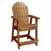 highwood® Hamilton Counter Deck Chair, Toffee