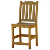 Highwood® Synthetic Wood Lehigh Counter Height Dining Chair With No Arms, Toffee