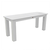 highwood® Counter Sideboard Table 22 x 54 , White
