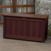 "Highwood® Deck & Patio Storage Box AD-DBXL1-ACE - 44""L x 24-15/16""W x 25-13/16""H, Acorn"