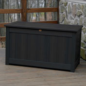 "Highwood® Deck & Patio Storage Box AD-DBXL1-BKE - 44""L x 24-15/16""W x 25-13/16""H, Black"