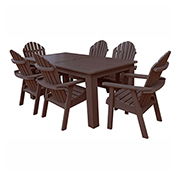 highwood® Hamilton 7pc Rectangular Dining Set, Weathered Acorn