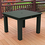 Highwood® Synthetic Wood Dining Table, 42 X 42, Charleston Green
