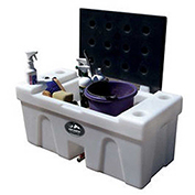 High Country Plastics Bench Water Caddy, BC-25R, 25 Gallons