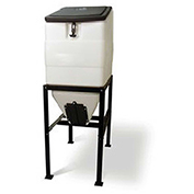 High Country Plastics Feed Bin With Stand, BIN-270, 270 Lbs Cap
