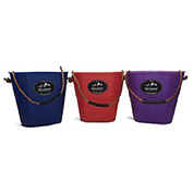High Country Plastics Lucky Bucket With Flat Back, LB-5B, 5 Gallons, Blue