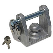 High Country Plastics EZ Lock, Bulldog Coupler, Bumper Pull, TL-20