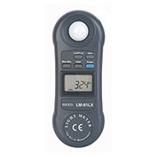 Reed Instruments LM-81LX-NIST Light Meter, 20,000 Lux