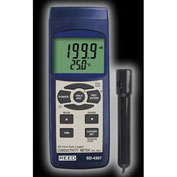 Reed Instruments SD-4307 Conductivity TDS Salinity Meter Data Logger