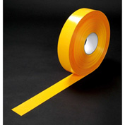 "Heskins PermaStripe® Heavy Duty Floor Marking Tape, Yellow, 2"" x 98'"