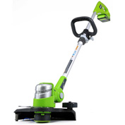 "GreenWorks™ 2100302 G-24 12"" 24V Cordless String Trimmer, Tool Only"