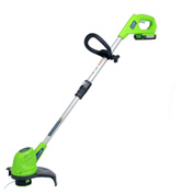 "GreenWorks™ 21262 Compact 12"" 20V Cordless String Trimmer Kit, W/ 2AH Battery & Charger"