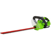 "GreenWorks™ 22172 Compact 20"" 20V Hedge Trimmer Kit, W/ 2aH Li-Ion Battery & Charger"