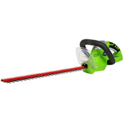 "GreenWorks™ 22302 Compact 20"" Cordless Hedge Trimmer, 20V - Tool Only"