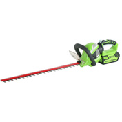 "GreenWorks™ 22332 G-MAX 40V 24"" Cordless Rotating Hedge Trimmer - Tool Only"
