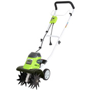 "GreenWorks® 27072 Corded 10"" Cultivator, 8Amp"