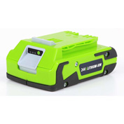 GreenWorks™ 29842 G-24 Lithium-Ion Battery, 24V, 2aH
