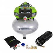 GreenWorks® 41522 6 Gallon Air Compressor. 150 Max PSI