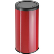 Hailo Big Bin Swing 45 Round Waste Receptacle, 11 Gallon Red - 0845-050