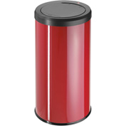 Hailo Big Bin Touch 45 Round Waste Receptacle, 11 Gallon Red - 0845-150