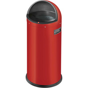 Hailo Quick 50 Waste Receptacle, 13 Gallon Red - 0850-889