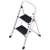 Hailo K20 2 Step Steel Step Stool - 4396-901