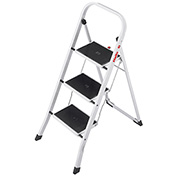 Hailo K20 3 Step Step Steel Step Stool - 4397-901
