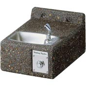 Halsey Taylor Sierra™ Stone Wall Mount ADA Outdoor Drinking Fountain