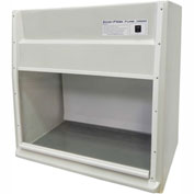 "HEMCO® EcoFlow Fume Hood with Vapor Proof Light and Built-In Blower, 48""W x 23""D x 36""H"