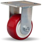 Hamilton® Standard Cold Forged Rigid 4 x 2 Poly-Tech Roller 750 Lb. Caster