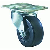 Hamilton® Leader Light Duty Swivel 3 x 1-1/4 Flexonite Oilless 125 Lb. Caster