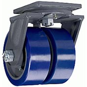 Hamilton® Maxi-Duty Forged Swivel 8 x 3 Duralast™ Roller 5000 Lb. Caster