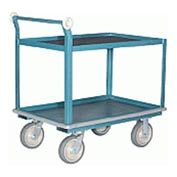 Hamilton® Steel Shelf Truck with Mats 30 x 60 - Super-Flex Wheels 1000 Lb. Cap.