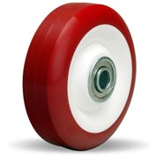 "Hamilton® Poly-Tech Wheel 4 x 1-3/8 - 3/8"" Ball Bearing"